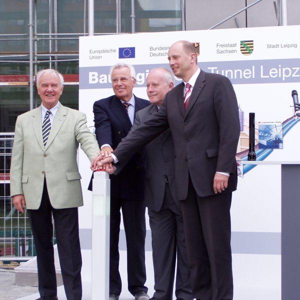 Baustart für den City-Tunnel Leipzig